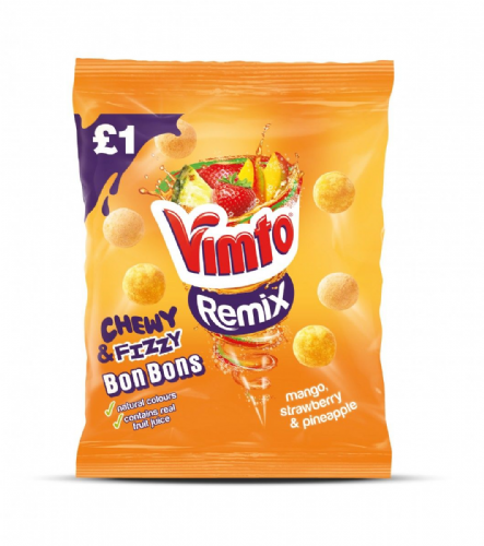 Vimto Remix Chewy Bon Bon 165g Packet